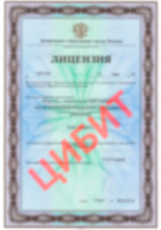 Лицензия № 035143 от 12 мая 2014 года